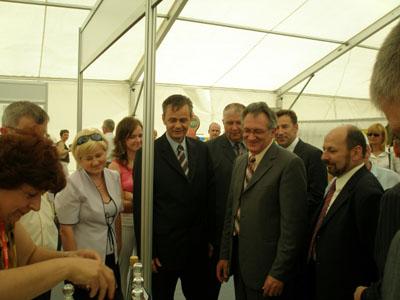 IZLAGANJE PODUZETNIKA KOPRIVNIČKO-KRIŽEVAČKE ŽUPANIJE NA MESAP-u 2007.