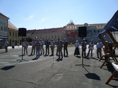 Dan povrća 2007. godine otvorio je Darko Koren, zamjenik župana Koprivničko-križevačke županije