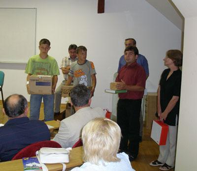 Osnovna škola Sokolovac dobila je nagradu za najviše prikupljenih uzoraka i prijenosno računalo s LCD projektorom