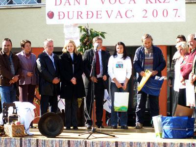 ODRŽAN DAN VOĆA KOPRIVNIČKO-KRIŽEVAČKE ŽUPANIJE 2007.