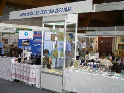 ODRŽAN ZAJEDNIČKI NASTUP PODUZETNIKA S PODRUČJA KOPRIVNIČKO-KRIŽEVAČKE ŽUPANIJE NA MESAP-u 2008