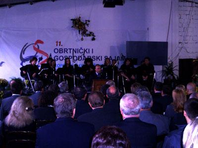 Sajam je svečano otvorio potpredsjednik Vlade RH i ministar gospodarstva, rada i poduzetništva gospodin Damir Polančec