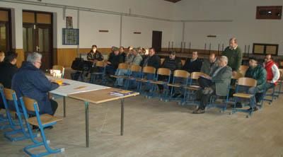 Drugoj radionici održanoj u prostorijama Društvenog doma u Ferdinandovcu prisustvovalo je 14 predstavnika OPG-a s područja te općine