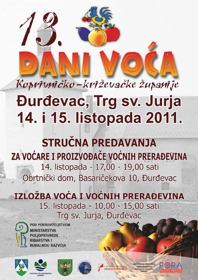 13. Dani voća Koprivničko-križevačke županije