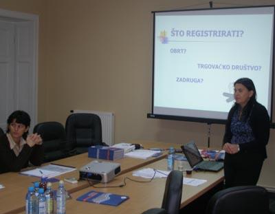 """Održan seminar """"Upoznavanje poduzetničke okoline"""""""