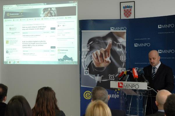 e-Poslovanje predstavljanje nove web stranice 1