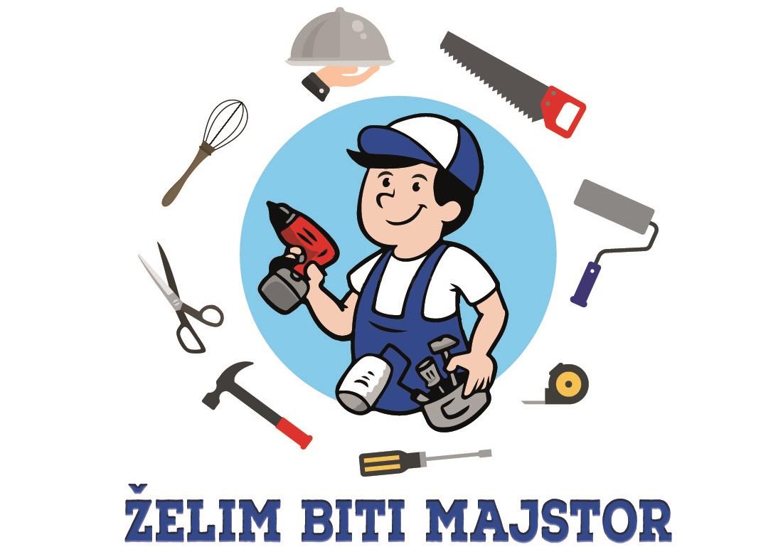 Logo projekta Želim biti majstor
