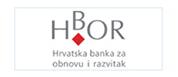 Logo HBOR Hrvatska banka za obnovu i razvitak