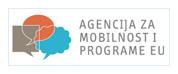 Logo Agencija za mobilnost i programe EU