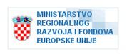 Logo Ministarstvo regionalnog razvoja i fondova Europske unije