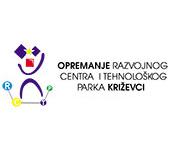 Logo projekta Opremanje Razvojnog centra i tehnološkog parka Križevci