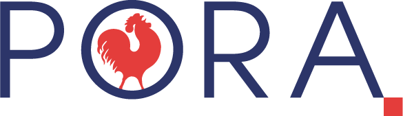 Logo PORA Regionalna razvojna agencija Koprivničko-križevačke županije