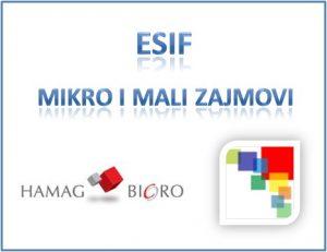 ESIF program mikro i malih zajmova