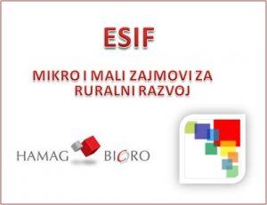 ESIF Mikro i mali zajmovi za ruralni razvoj