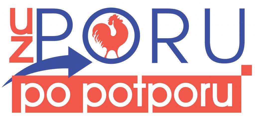 Logo projekta Uz PORU po potporu