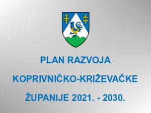 Plan razvoja Koprivničko-križevačke županije 2021. - 2030.