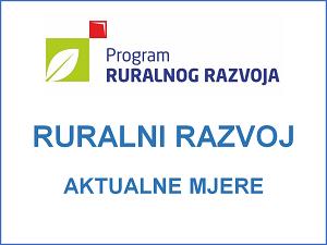 Ruralni razvoj aktualne mjere