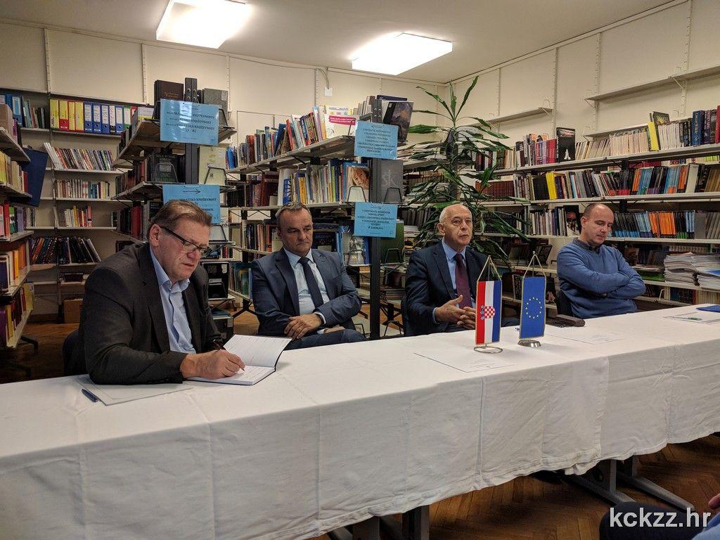 Zamjenik Ljubić prisustvovao radnom sastanku o projektu županijskog Centra kompetentnosti