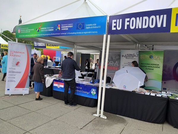PORA REGIONALNA RAZVOJNA AGENCIJA KOPRIVNIČKO-KRIŽEVAČKE ŽUPANIJE SUDJELOVALA NA DANIMA OTVORENIH VRATA EU FONDOVA